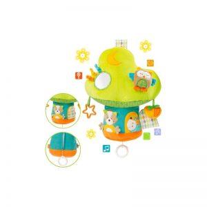 BabyFehn - Argola com 3 acessórios