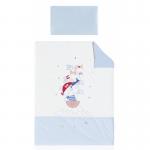 PIRULOS - Cobertor + almofada - Pirates - Azul