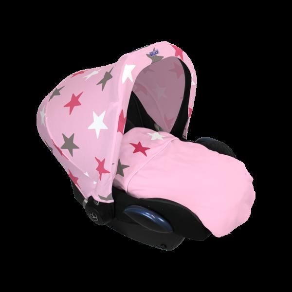 Dooky - Blanket (manta) Estrelas Rosa 2017
