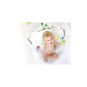 BabyDam - Barreira Redutora de Banheira - Cinza