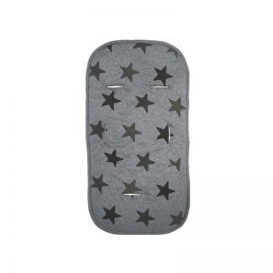 Dooky - Forra multiconfortável 4 em 1 Grey Stars