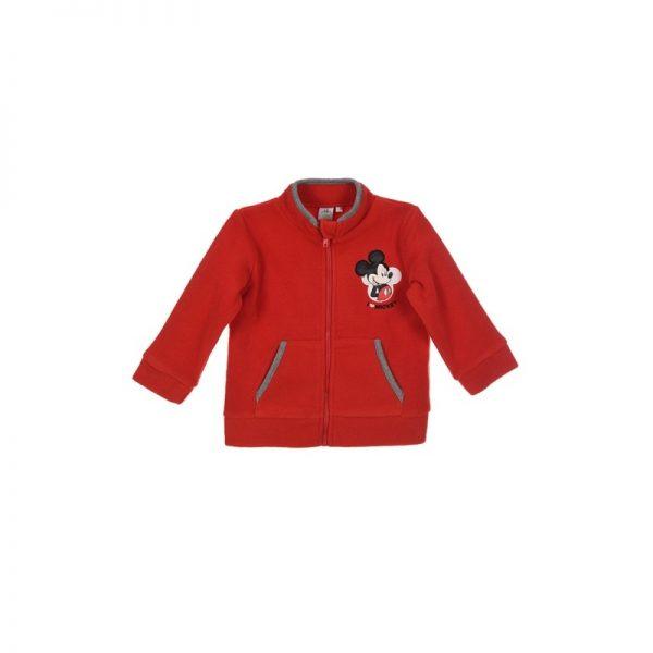 Disney Baby - Casaco Polar Mickey Vermelho(Vários Tamanhos)