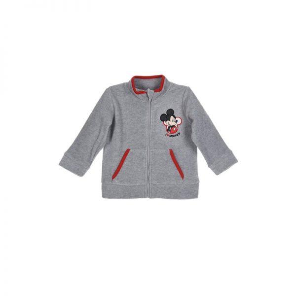 Disney Baby - Casaco Polar Mickey Cinza (Vários Tamanhos)