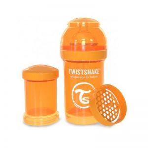 Twistshake - Biberão Anti-cólicas - 180ml Laranja