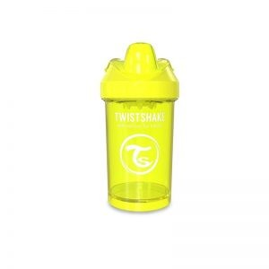 Twistshake - Copo de Aprendizagem Anti-derrame 300 ml - Amarelo