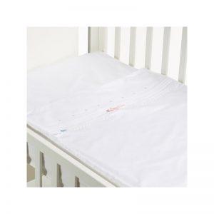 B - Mum - Conjunto de Lençois Safety Baby Bed 50 x 80 cm - Lacinho Rosa