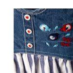 Tuc Tuc – Vestido Combinado Fishes Menina (Vários Tamanhos Disponíveis)