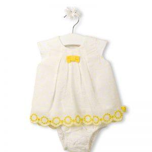 Tuc Tuc - Vestido Popelina Picpic Menina (Vários Tamanhos Disponíveis)