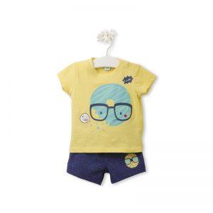 Tuc Tuc - T-Shirt + Calção Yummi Menino (Vários Tamanhos Disponíveis)