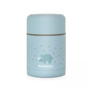 Miniland - Termo Sólidos 600 ml Azul