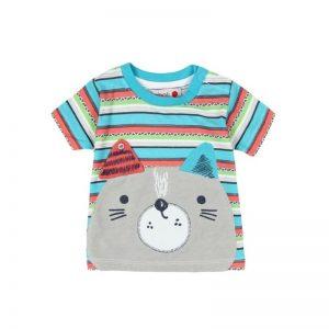 Bóboli - T-shirt Estampada Menino