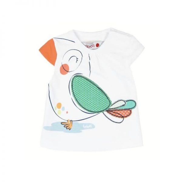 Bóboli - T-shirt Passarinho Menina