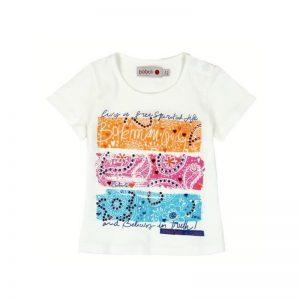 "Bóboli - T-shirt ""Bohemian"" Menina"