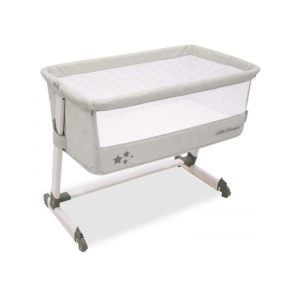 Asalvo - Berço Bed Side Star Light Grey