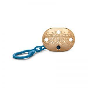 Suavinex - Corrente Porta-Chupetas Premium +0 meses - Azul Escuro