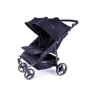 Baby Monsters - Carrinho Easy Twin 3S Black