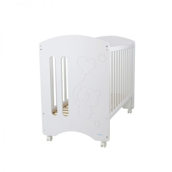 MICUNA - Cama Globito Branco + Colchão - 1,20 x 60 cm