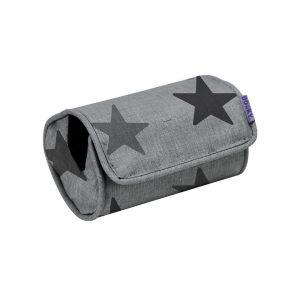 Dooky -Arm Cushion Grey Crowns