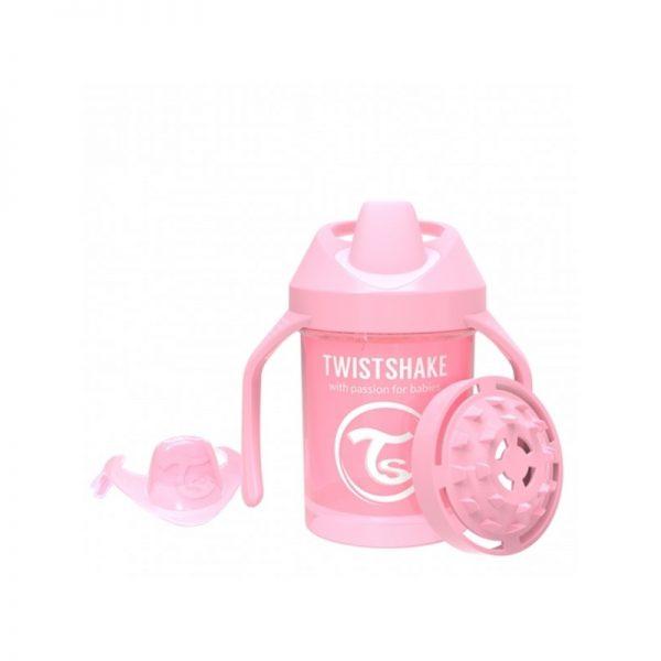 Twistshake - Mini Cup Anti-Derrame 230 ml - Pink Pastel