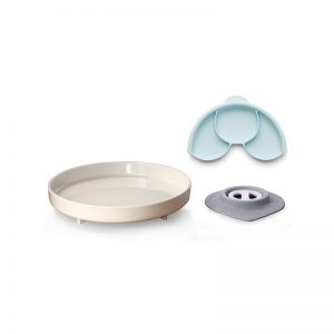 Miniware - Prato com Ventosa e Separador