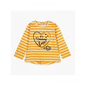 Bóboli - Camisola Manga Comprida Amarela Menina
