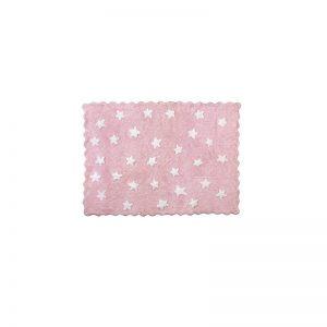 Aratextil - Tapete decorativo - Eden Estrelas Rosa