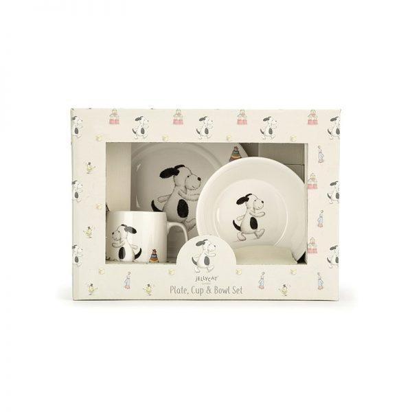 Jellycat - Conjunto Refeição 3 Peças Puppy