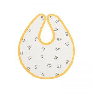Baby Bites - Babete Impermeável Amarelo