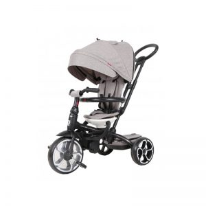 Q Play - Triciclo Evolutivo Prime Cinza