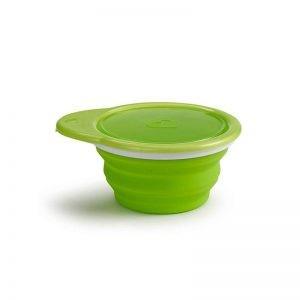 Munchkin - Taça Recolhível em Silicone Verde