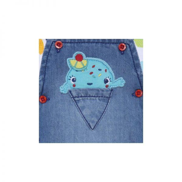 Tuc Tuc - Vestido Ganga + T-shirt - Cute Ice