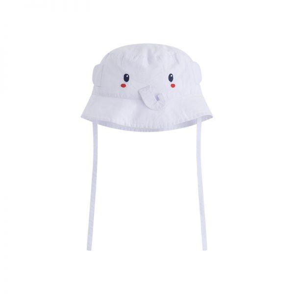 Tuc Tuc - Chapéu Popelina branco - So Sweet