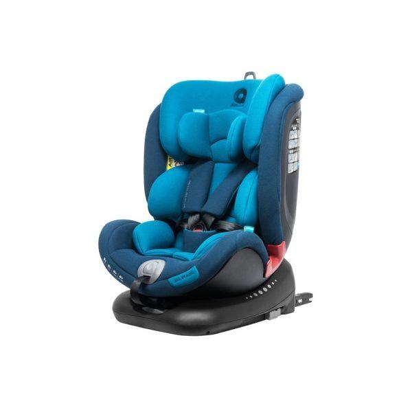 Apramo All Stage- Cadeira Auto Grupo 0/1/2/3 Black Series - Royal Blue