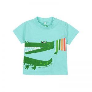 Bóboli - T-Shirt para bebé menino Lago - Tropical Life