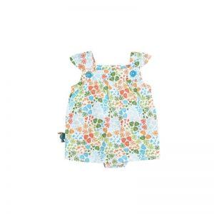 Bóboli - Vestido para bebé menina - Tropical Life
