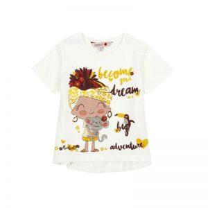 Bóboli - T-Shirt para bebé menina - Boho Afric