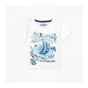 Bóboli - T-Shirt para bebé menino - Blue Coast
