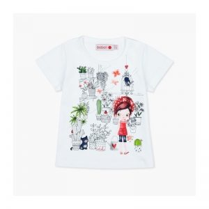 Bóboli - T-Shirt para bebé menina - Real Red
