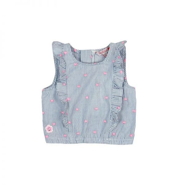 Bóboli - Blusa de Alças para bebé menina Blue Coast