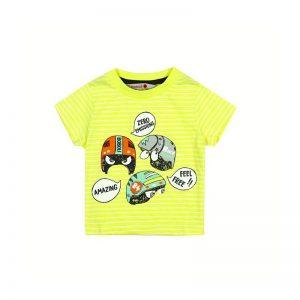 Bóboli - T-Shirt para bebé menino - Foolish Things - Verde