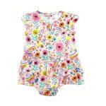 Bóboli – Vestido estampado para menina – Over The Rainbow