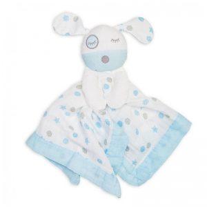 Lulujo Baby - Dou-Dou Musselina Cão Azul