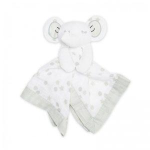 Lulujo Baby - Dou-Dou Musselina Elefante Cinza