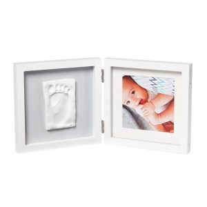 Baby Art - My Baby Style - Moldura com Fotografia + Gesso - Cinza