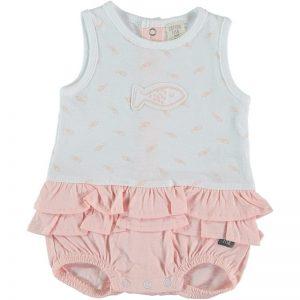 Cotton Fish - Bodie Vestido Peixinhos - Rosa