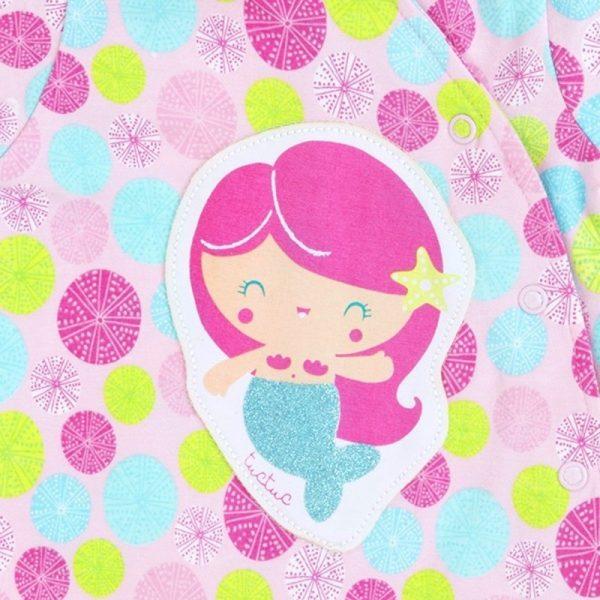 Tuc Tuc - Babygrow Little Mermaids Rosa
