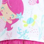 Tuc Tuc – Conjunto para Menina Little Mermaids Rosa
