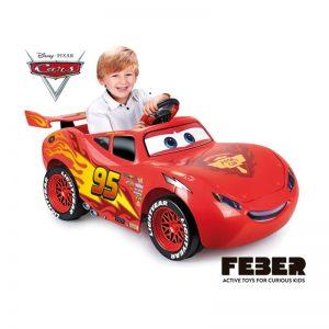 Feber - Cars Lightning MCQUEEN 6V