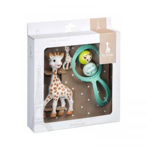 Sophie la Girafe - Sophie la Girafe + Roca + Porta chaves