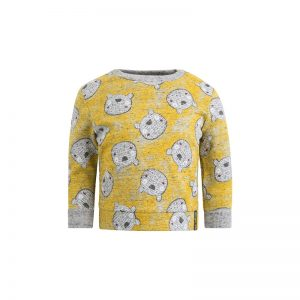 Tuc Tuc - Camisola com Ursinhos Menino Artic Bear - Amarelo